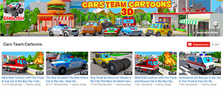 Cars Team Cartoons